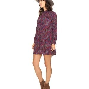 Jack by BB Dakota Triston Dress M Paisley Print